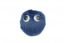 Καρφίτσα παιδική - εφηβική μπλε με διαστάσεις 75Χ60mm