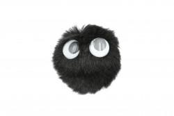 Καρφίτσα παιδική - εφηβική μαύρη με διαστάσεις 75Χ60mm