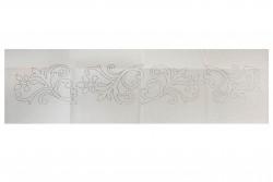 Κέντημα γραμμικό σεμέν 40Χ140cm