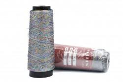Κλωστή κεντήματος τρίκλωνη Golden Metallic Yarn 3-8 με συνδιασμό πολλών χρωμάτων