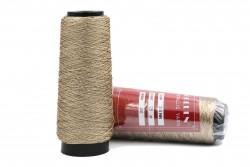 Κλωστή κεντήματος τρίκλωνη Golden Metallic Yarn 3-3ΝΝ σε μπεζ χρώμα