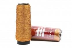 Κλωστή κεντήματος τρίκλωνη Golden Metallic Yarn 3-2 σε χάλκινο πορτοκαλί χρώμα