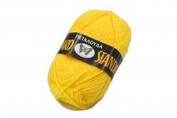 Νήμα Πεταλούδα Standard σε κίτρινο χρώμα Art 100