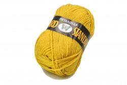 Νήμα Πεταλούδα Standard σε κίτρινο μουσταρδί χρώμα Art 100
