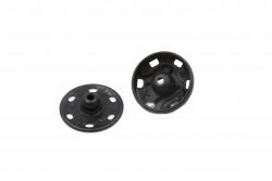 Σούστες μεταλλικές μαύρες Kohinoor No1 διαμέτρου 8.5-8mm