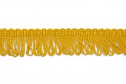 Κρόσσι ρεγιόν σε κίτρινο μουσταρδί 40mm