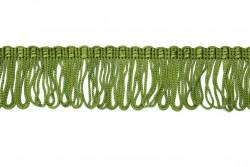 Κρόσσι ρεγιόν σε πράσινο λαδί 40mm
