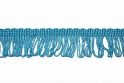 Κρόσσι ρεγιόν σε μπλε θαλασσί 40mm