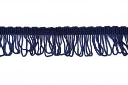 Κρόσσι ρεγιόν σε σκούρο μπλε 40mm