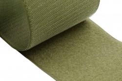 Ταινία Velcro 100mm σε πράσινο - χακί (αρσενικό - θηλυκό)