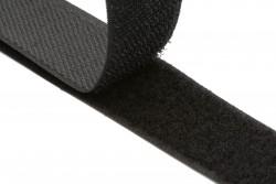 Ταινία Velcro 50mm σε μαύρο (αρσενικό - θηλυκό)