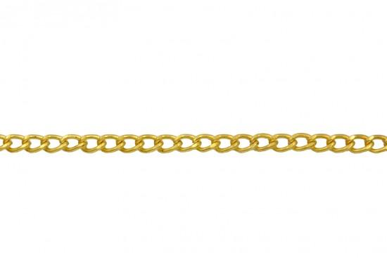Αλυσίδα σε χρυσό χρώμα 5mm