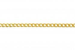 Αλυσίδα σε ανοιχτό χρυσό χρώμα 5mm