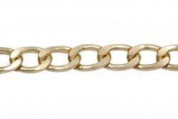 Αλυσίδα σε χρυσό χρώμα 15mm