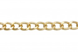 Αλυσίδα σε χρυσό χρώμα 10mm