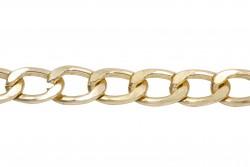 Αλυσίδα σε ανοιχτό χρυσό χρώμα 15mm
