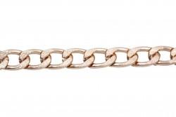 Αλυσίδα σε ροζ χρυσό χρώμα 12mm