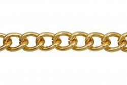 Αλυσίδα σε σκούρο χρυσό χρώμα 15mm
